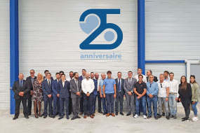 Cojali celebrates the 25th anniversary of its subsidiary, Defi Diffusion (Cojali France)